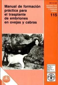 41. Manual de formación práctica para el trasplante de embriones en ovejas y cabras