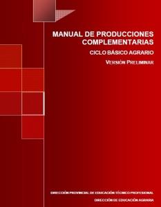 58. Manual de Producciones Complementarias