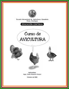 166. Curso de avicultura