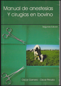 175. Manual de Anestesias y Cirugías en Bovino